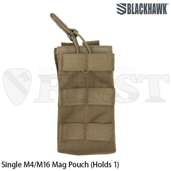 【BlackHawk】STRIKE Single M4/M16 Mag Pouch (CT)
