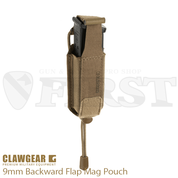 9mm Backward Flap マグポーチ COY
