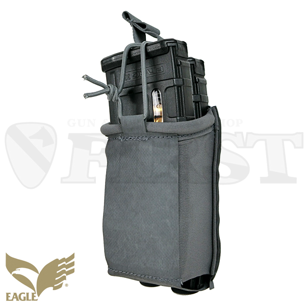 【EAGLE】 M4 Mag Pouch - HTS Style  GY