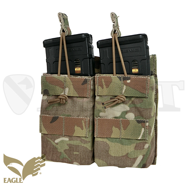 【EAGLE】 M4 Double Magazine Pouch MC