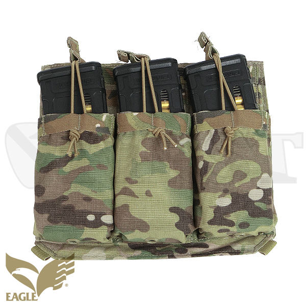 【EAGLE】 REMOVABLE F / FLAP w / M4 Mag Pokets MC