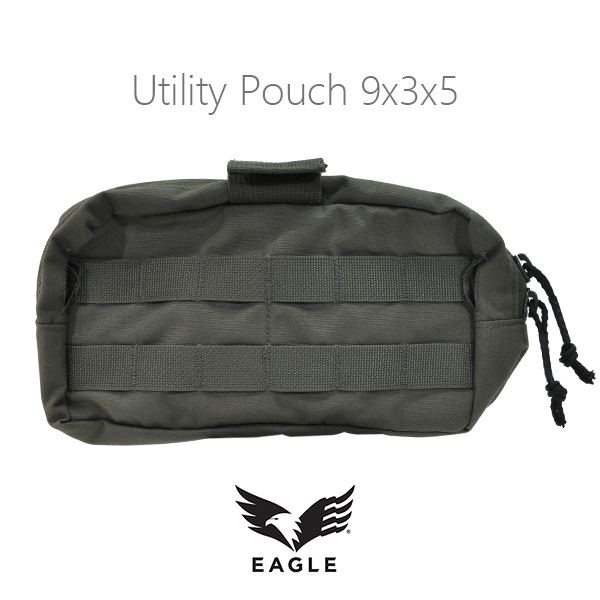 【EAGLE】Utility Pouch 9x3x5 MOLLE Front RG