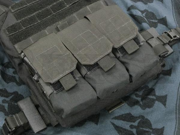 M4 トリプルマガジンポーチ 6/12 BK