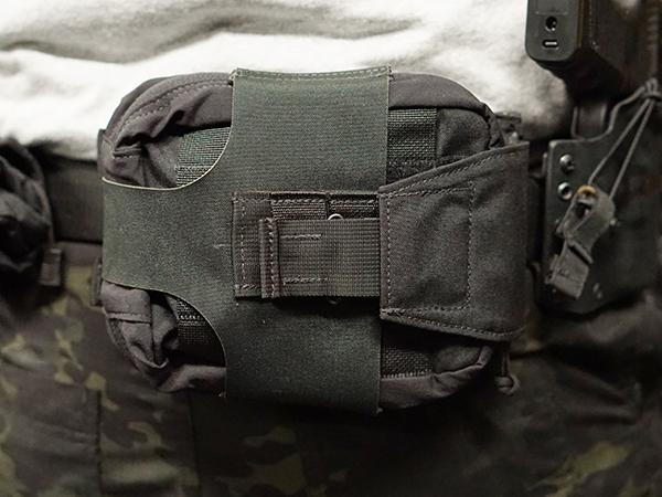 SOF-LCS レンジャーメディカルポーチ 6/9 BK