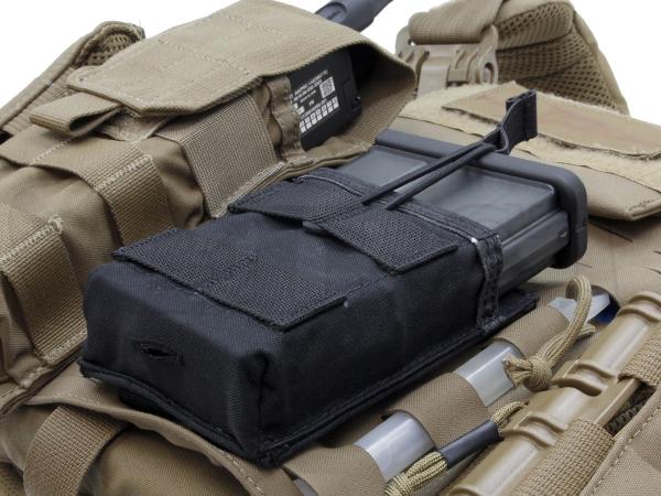 HK417 MOLLE フロントマガジンポーチ 6/9 BK
