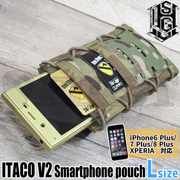 ITACO V2 スマートフォンポーチ MC Lサイズ MOLLE対応