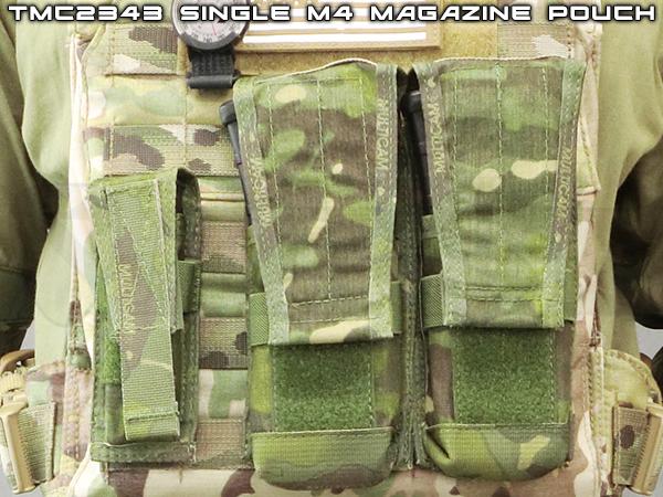 【ゲリラSALE】TMC2343-MTP シングル M4 バーティカル ポーチ マルチカムトロピック