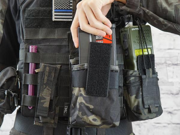 TMC2463-MCBK HK417 ダブルマガジンポーチ マルチカムブラック