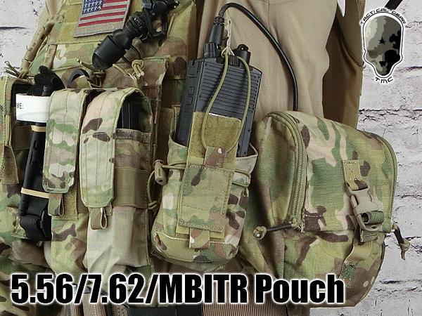 TMC2323-MC 5.56 7.62 MBITRポーチ マルチカム