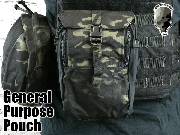【ゲリラSALE】TMC2385-MCBK 973 GPポーチ マルチカムブラック