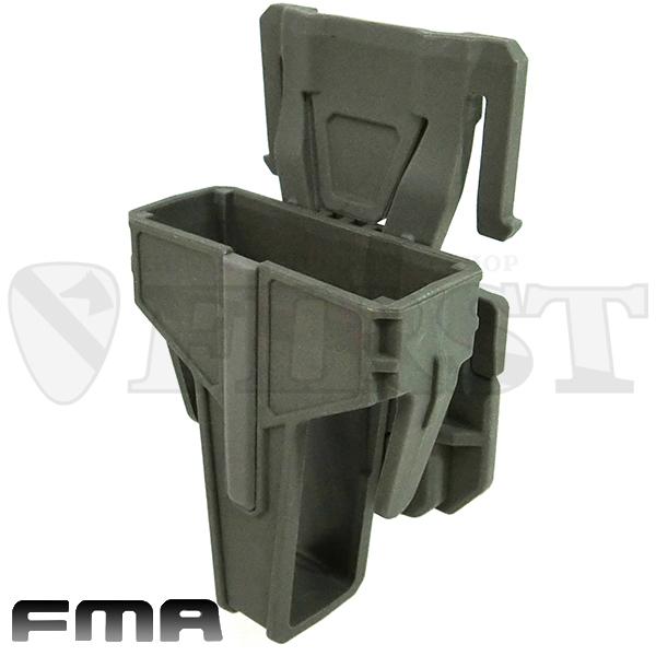 FMA FSMR M4用 マグポーチ MOLLE対応 フォリッジグリーン