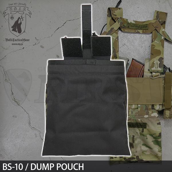 BS-10 / ダンプポーチ BLACK