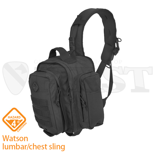 H4-EVC-WATS-BLK ワトソン lumbar / chest sling BK【1〜3営業日以内に発送】