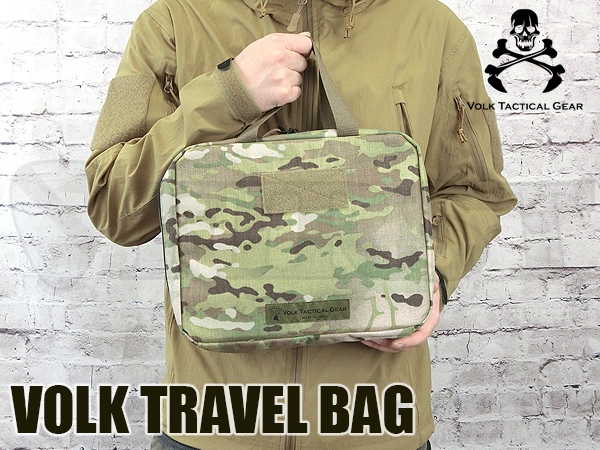 VOLK TRAVEL BAG MULTICAM