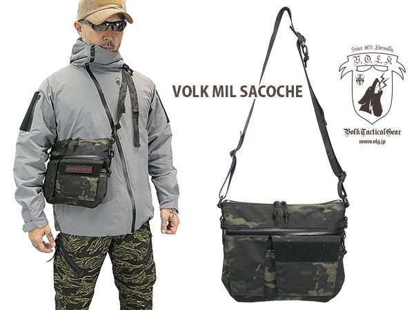 VOLK MIL SACOCHE(ミルサコッシュ) MULTICAM BLACK