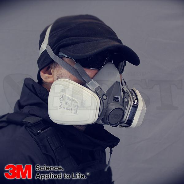 【DIVISION】3M 防毒マスクセット