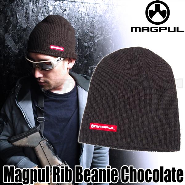 MAGPUL リブ ニットビーニー Chocolate