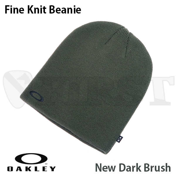 91099A-86L Fine Knit Beanie New Dark Brush
