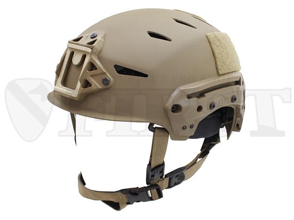 【アウトレット特価】TW-71-32S-B31 EXFIL カーボンバンプヘルメット COY w/シュラウド L/XL
