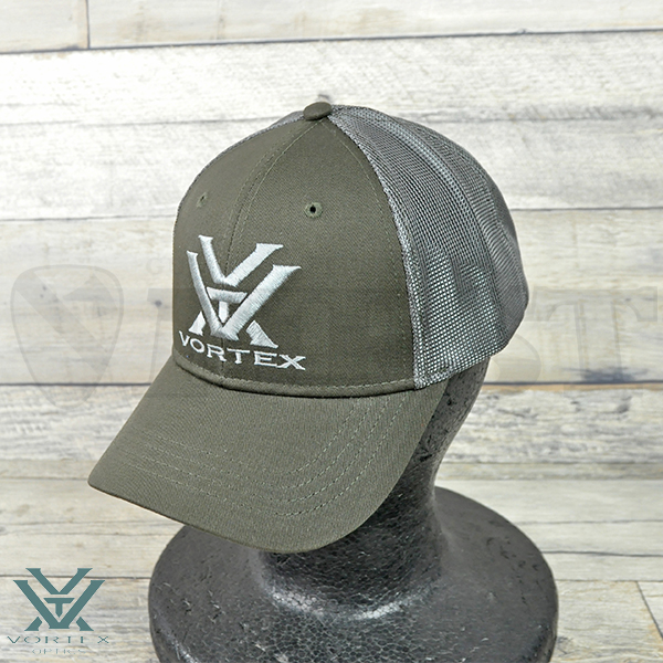 【VORTEX】Vortex Green & Grey Mesh Cap