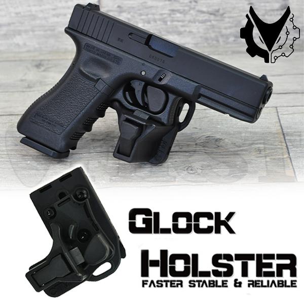 CTM GLOCK HOLSTER BK