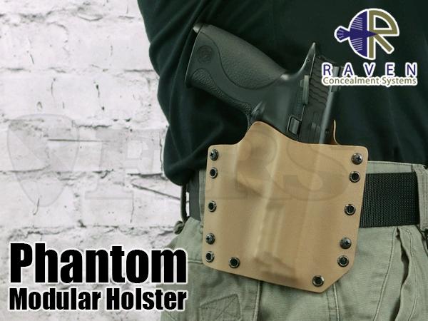 【アウトレット特価】Phantom ホルスター M&P9対応 ショートシールドVer CT 右 OWB1.75
