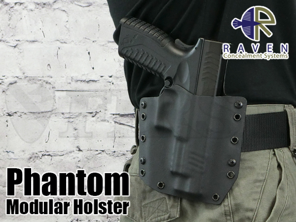 【アウトレット特価】Phantom ホルスター XDM対応 BK 右 OWB1.75