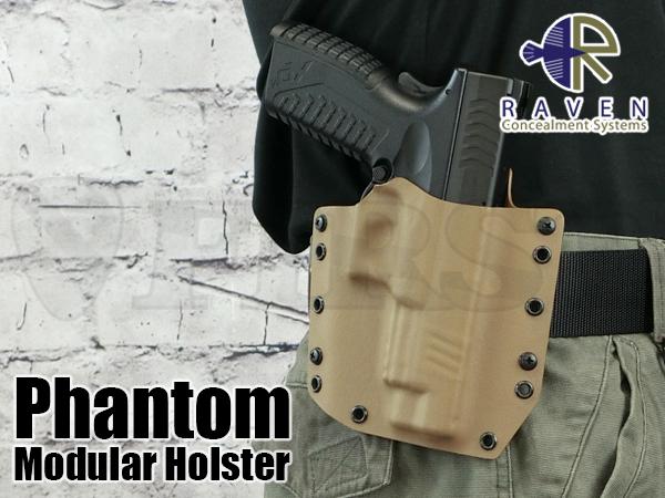 【アウトレット特価】Phantom ホルスター XDM対応 ショートシールドVer CT 右 OWB1.75