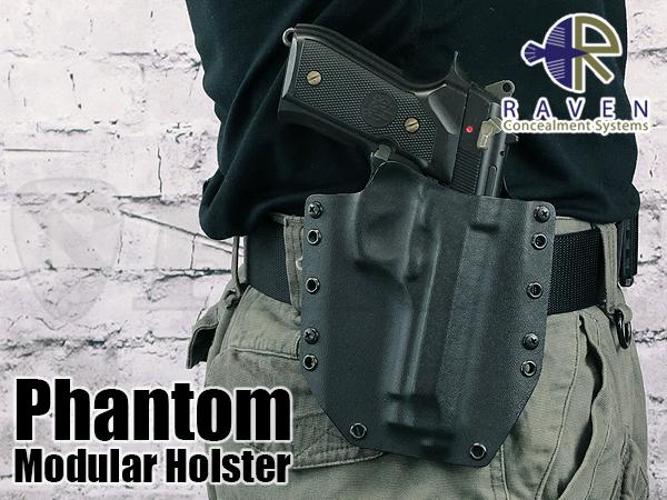【アウトレット特価】Phantom ホルスター M9対応 BK 右 OWB1.75