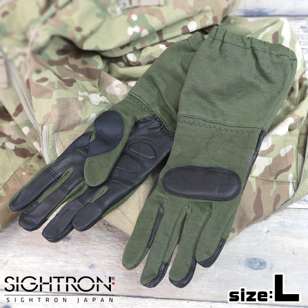 【Sightron】 タクティカルオペレーショングローブ TAS-OPG2-OD (L)