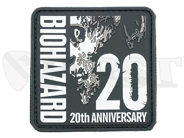 BIOHAZARD 20th ANNIVERSARY PATCH PVC