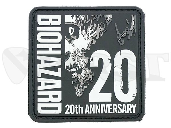 BIOHAZARD 20th ANNIVERSARY PATCH PVC