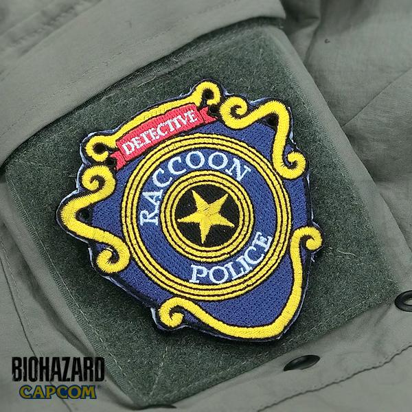 バイオハザード パッチ BIOHAZARD RPD PATCH(刺繍)