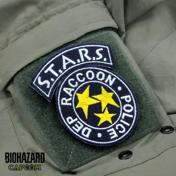 【再販予約】BIOHAZARD STARS PATCH(刺繍)