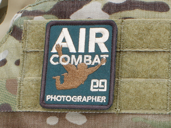 「AIR COMBAT PHOTOGRAPHER」パッチ MC