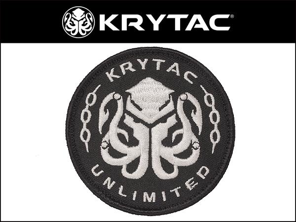 KRYTAC オフィシャル 刺繍パッチ