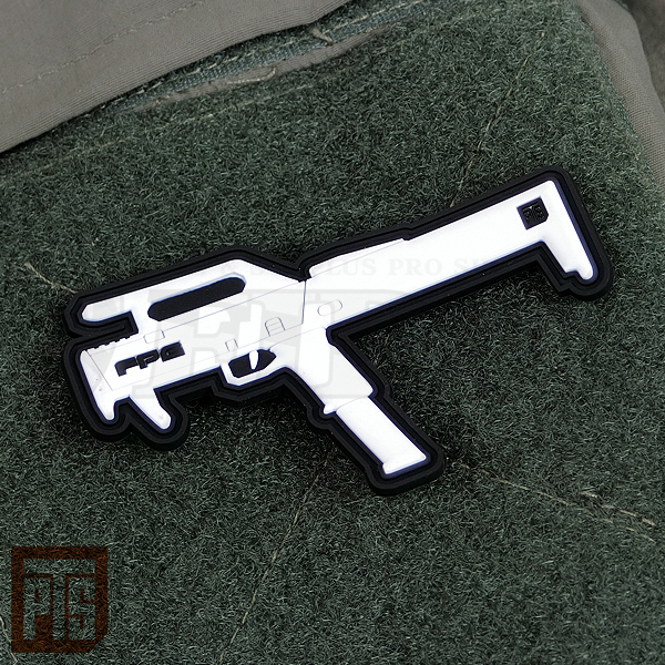 PTS PVCパッチ FPG (2.8インチ) White