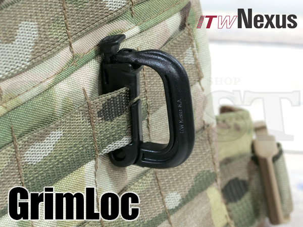 ITW NEXUS製 GRIMLOC D-Ring グリムロック BK