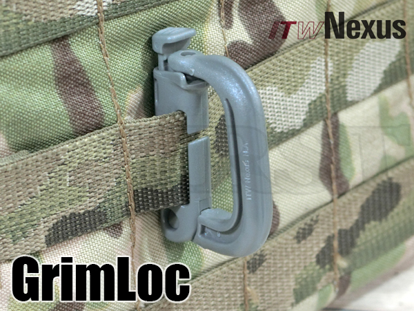 ITW NEXUS製 GRIMLOC D-Ring グリムロック FG