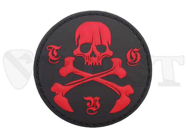 3D RUBBER PATCH RED