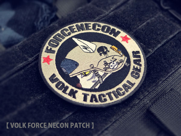 VOLK FORCE NECON PATCH