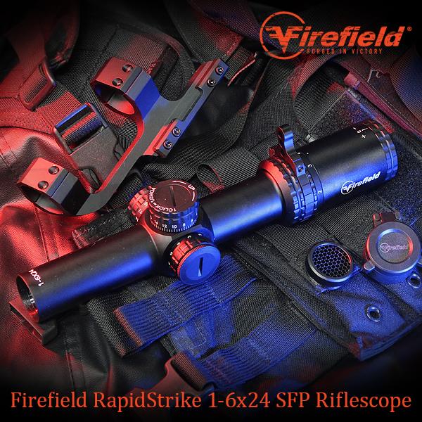 【新商品予約特価】RapidStrike 1-6x24 ショートスコープセット