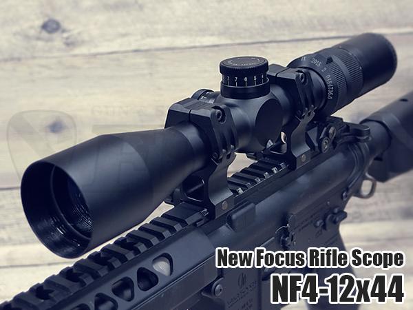 No.070 ニューフォーカス ライフルスコープ NF4-12×44