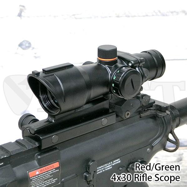 No.430 ACOGスタイル ライフルスコープ NTR4×30 RG