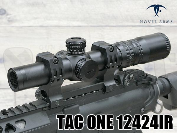 ライフルスコープ TAC ONE 12424IR 1.2-4X24