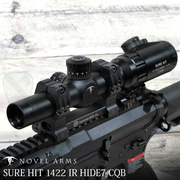 SH-1442IR シュアヒット HIDE7 CQB 1-4x30 IR