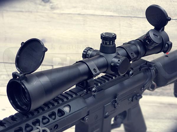 リューポルド M1タイプ 3.5-10x40 イルミネート スコープ マウントリング付
