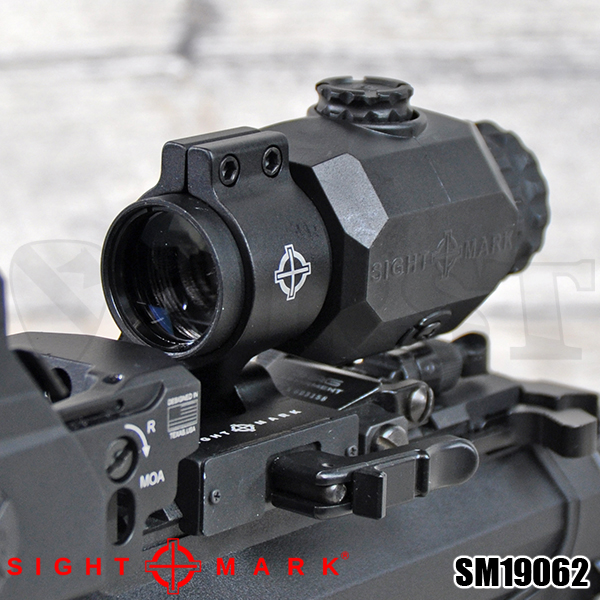 【Sightmark】 XT-3 Tactical Magnifier with LQD Flip to Side Mount
