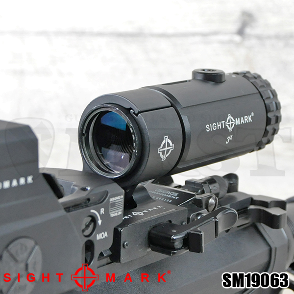 【Sightmark】 T-3 Magnifier with LQD Flip to Side Mount