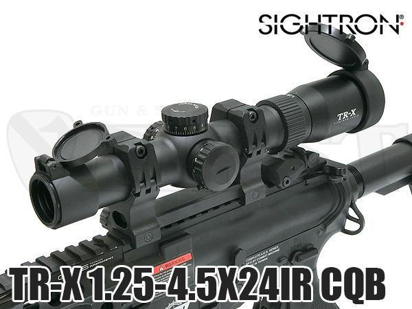 TR-X 1.25-4.5×24IR CQBスコープ